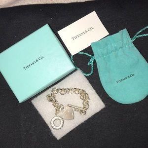 Authentic Tiffany & Co Toggle Bracelet